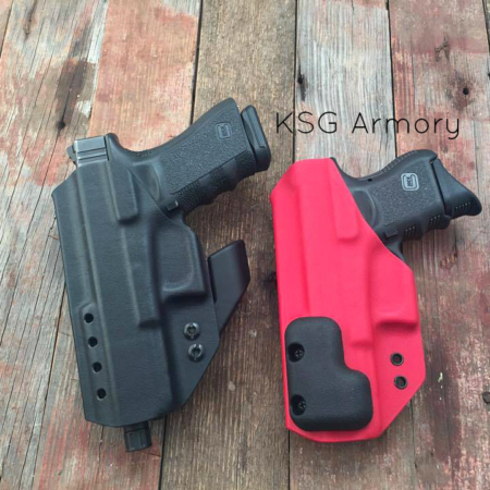 Appendix carry holster wedge